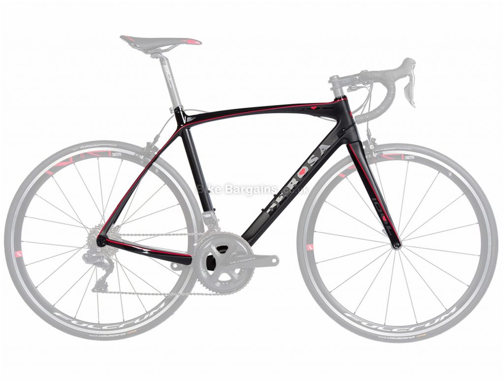 De Rosa Idol Calipers Carbon Road Frame 2019 54cm, Silver, Carbon, 700c, Caliper Brakes