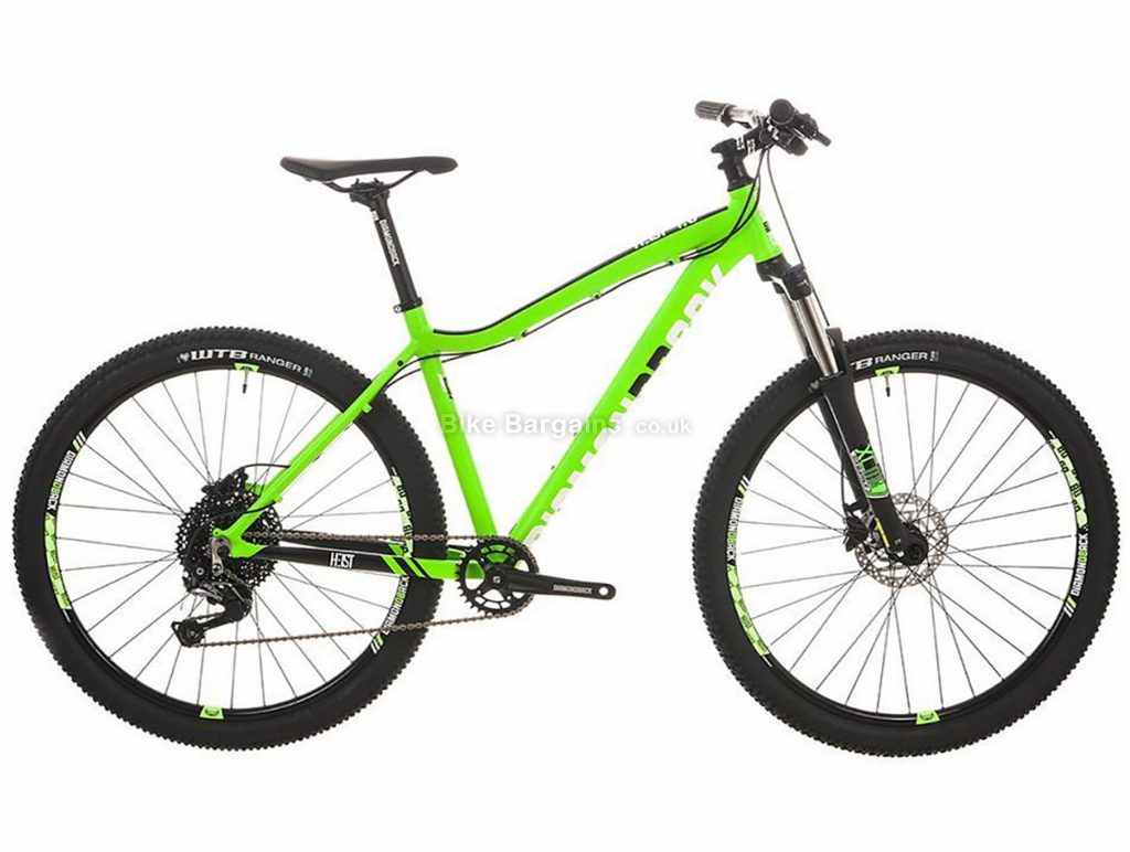 "Diamondback Heist 1.0 Hardtail Mountain Bike 16"", Green, Alloy, 11 Speed, Disc, 27.5"""
