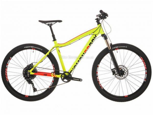 "Diamondback Heist 2.0 Hardtail Mountain Bike 16"", Yellow, Alloy, 11 Speed, Disc, 27.5"""