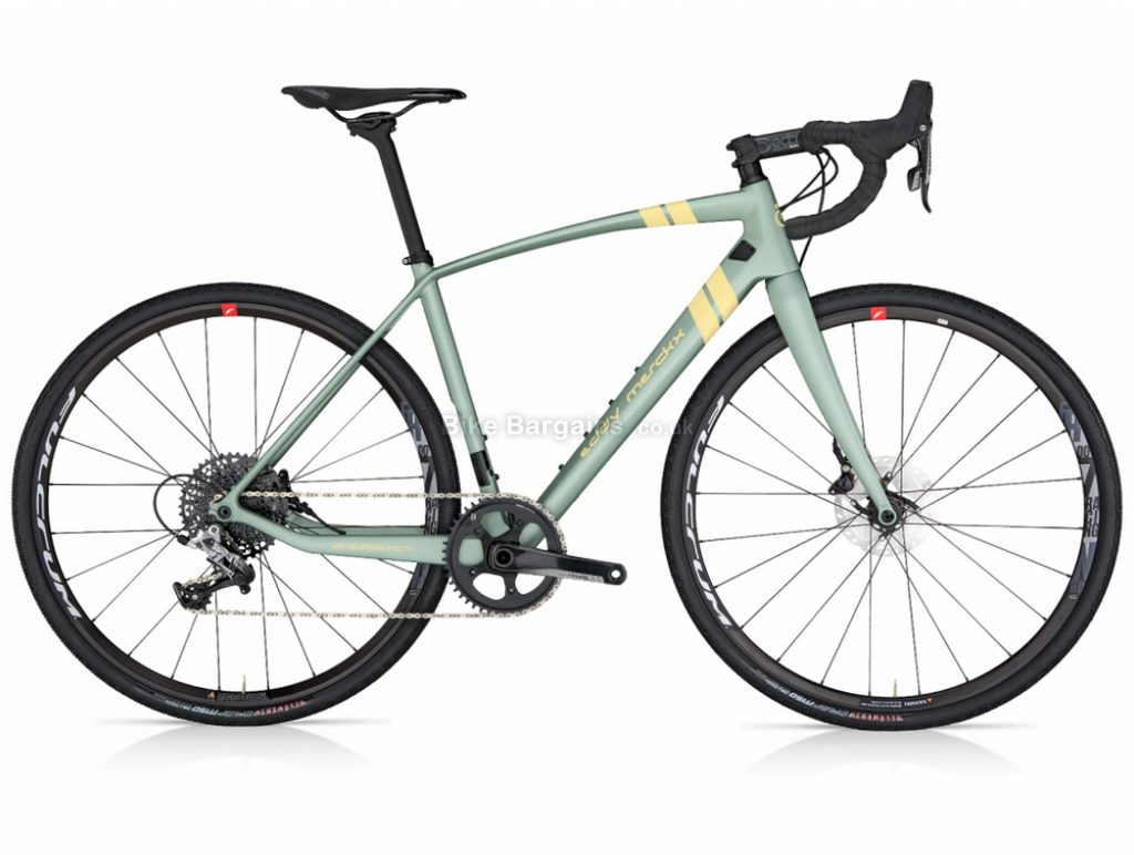 Eddy Merckx Strasbourg 71 Disc Force 1 Carbon Gravel Bike 2019 XS, Green, Carbon, 700c, 11 Speed, Single Chainring, Disc