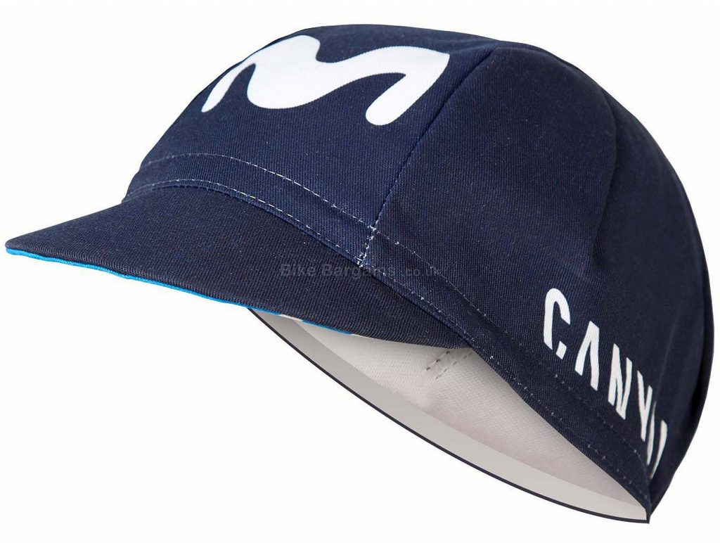 Endura Movistar R Race Cap Blue, One Size