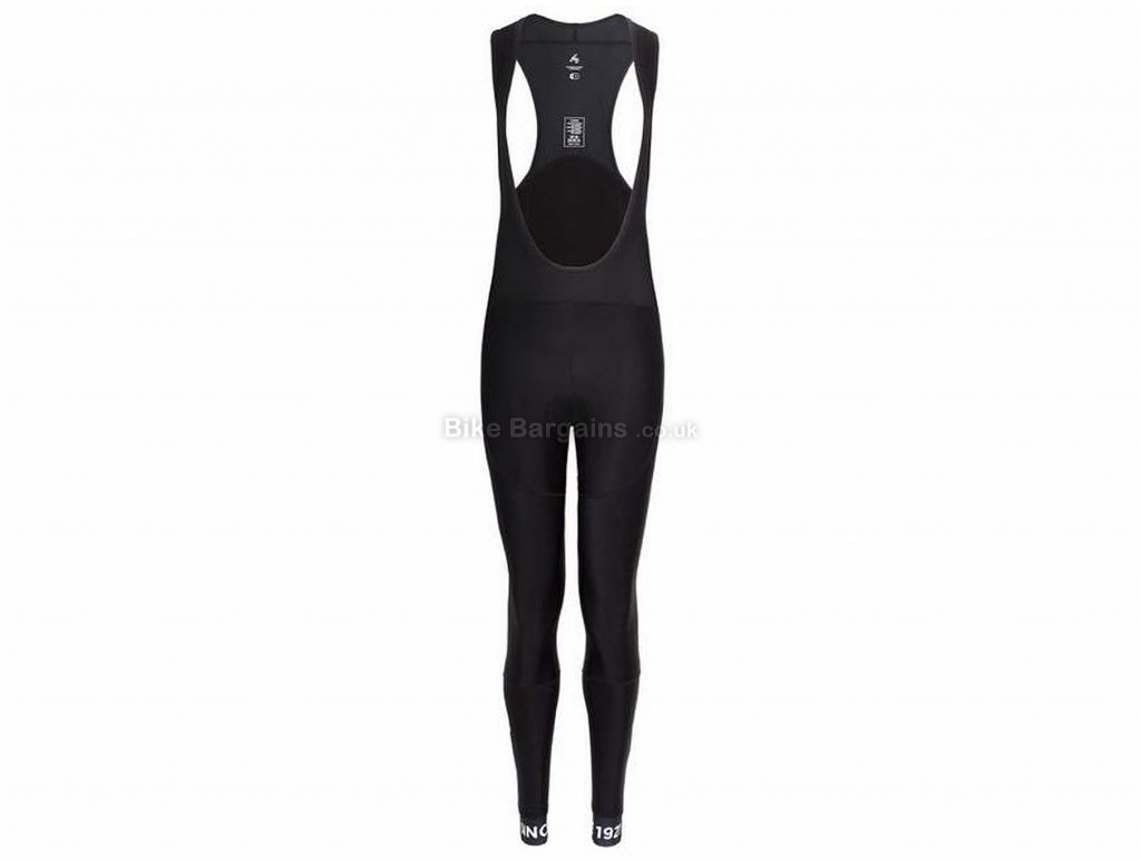 FWE Ladies Coldharbour Thermal Padded Bib Tights XS, Black