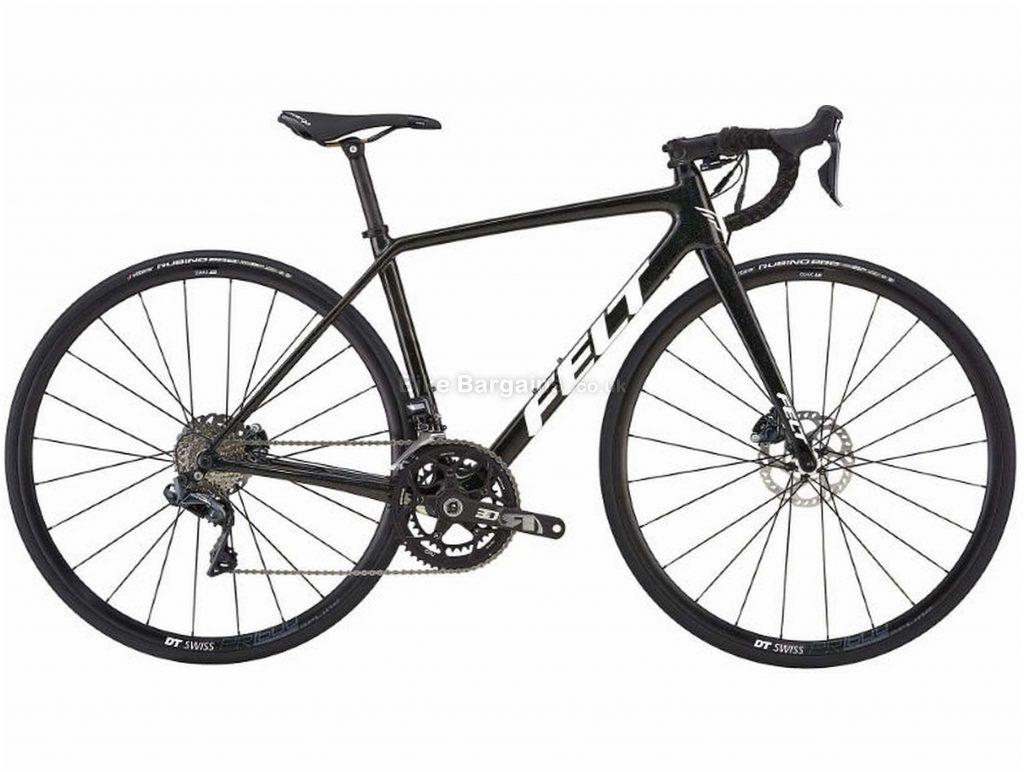 Felt FR2W Disc Di2 Carbon Road Bike 2019 43cm, Black, Carbon, 700c, 11 Speed, Double Chainring, Disc, 7.5kg