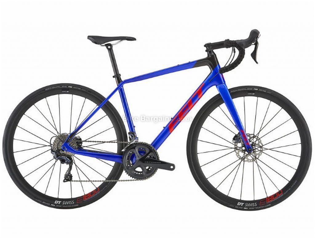 Felt VR3 Disc Carbon Road Bike 2019 51cm, Blue, Carbon, 11 Speed, Disc, Double Chainring