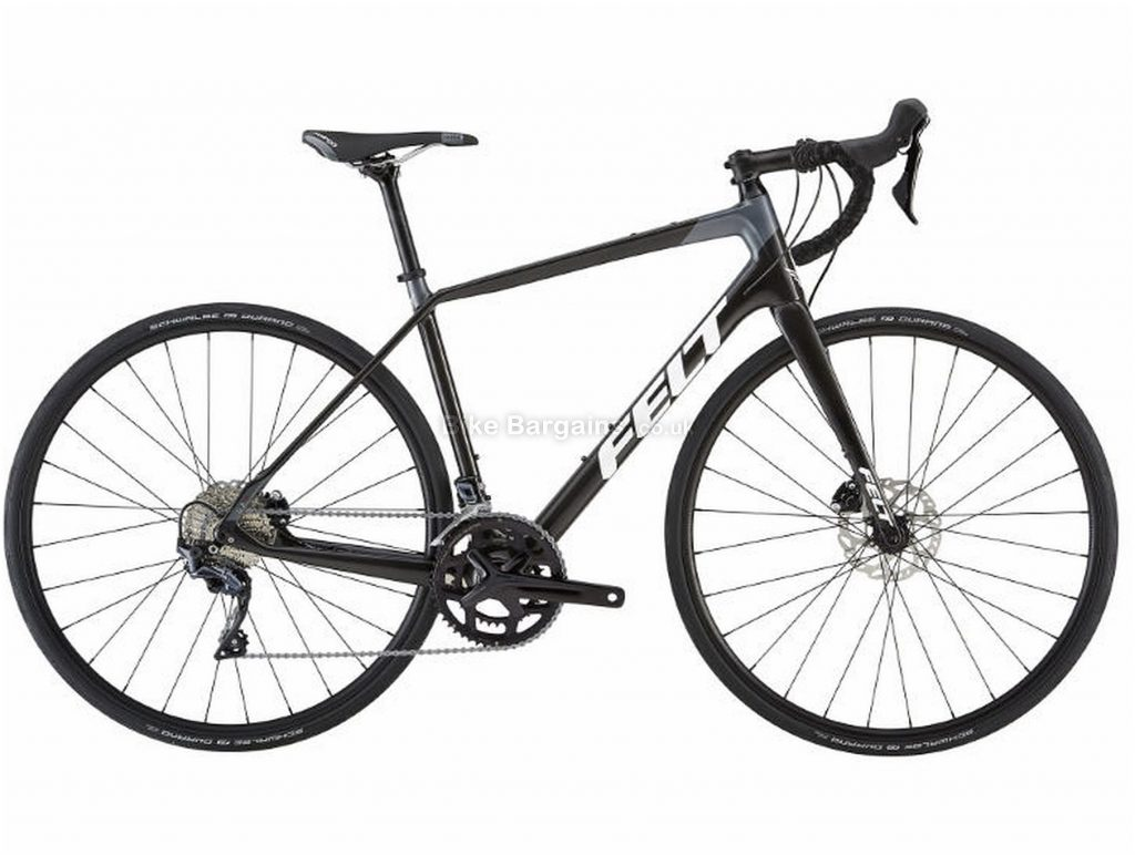Felt VR4 Disc Carbon Road Bike 2019 51cm, Black, Carbon, 11 Speed, Disc, Double Chainring