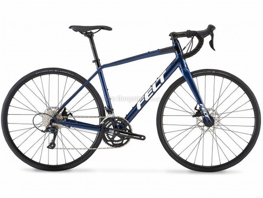 Felt VR50 Alloy Road Bike 2019 56cm, Blue, Alloy, 700c, 11 Speed, Double Chainring, Disc, 10.7kg