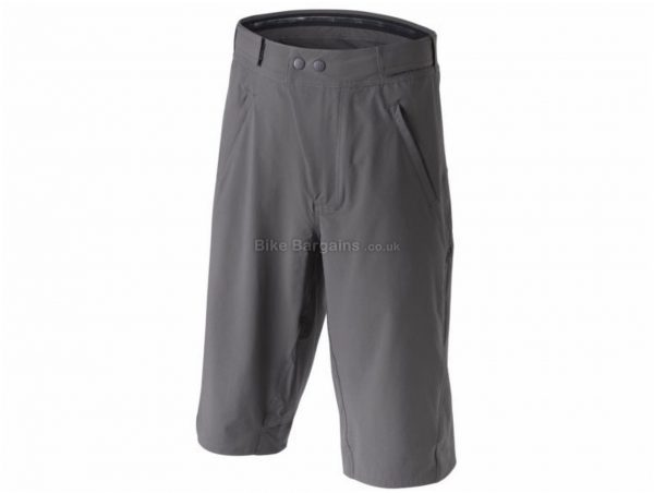 Findra Trail Shorts 36, Grey