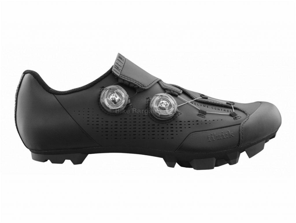 Fizik X1 Infinito MTB Shoes 45, Black, 232g, Men's, MTB, Carbon, Boa