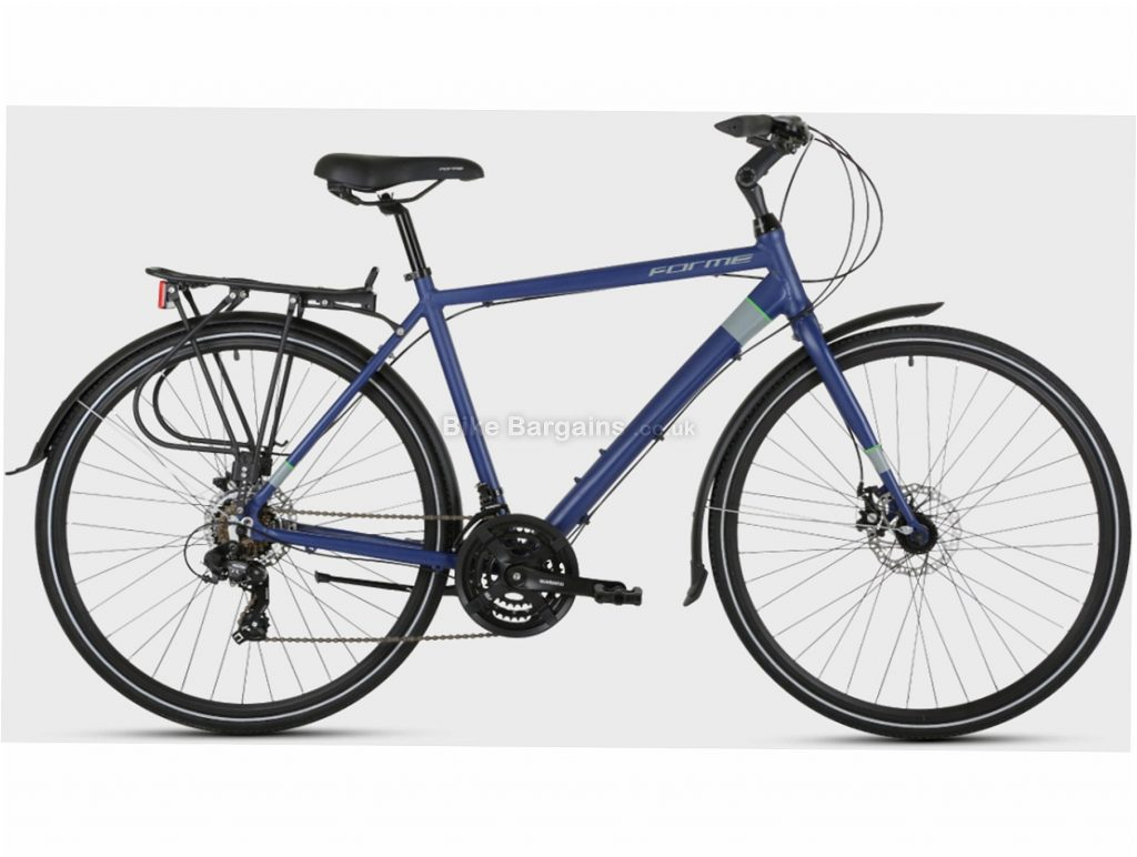 "Forme Cromford 1 Alloy City Bike 21"", Blue, Alloy, 700c, Disc, Hardtail, 7 Speed"