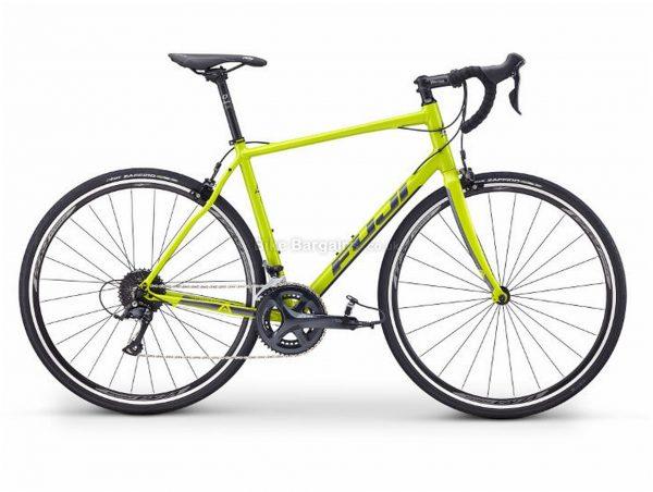 Fuji Sportif 2.1 Alloy Road Bike 2019 61cm, Green, Alloy, 700c, 9 Speed, Double Chainring, Caliper Brakes