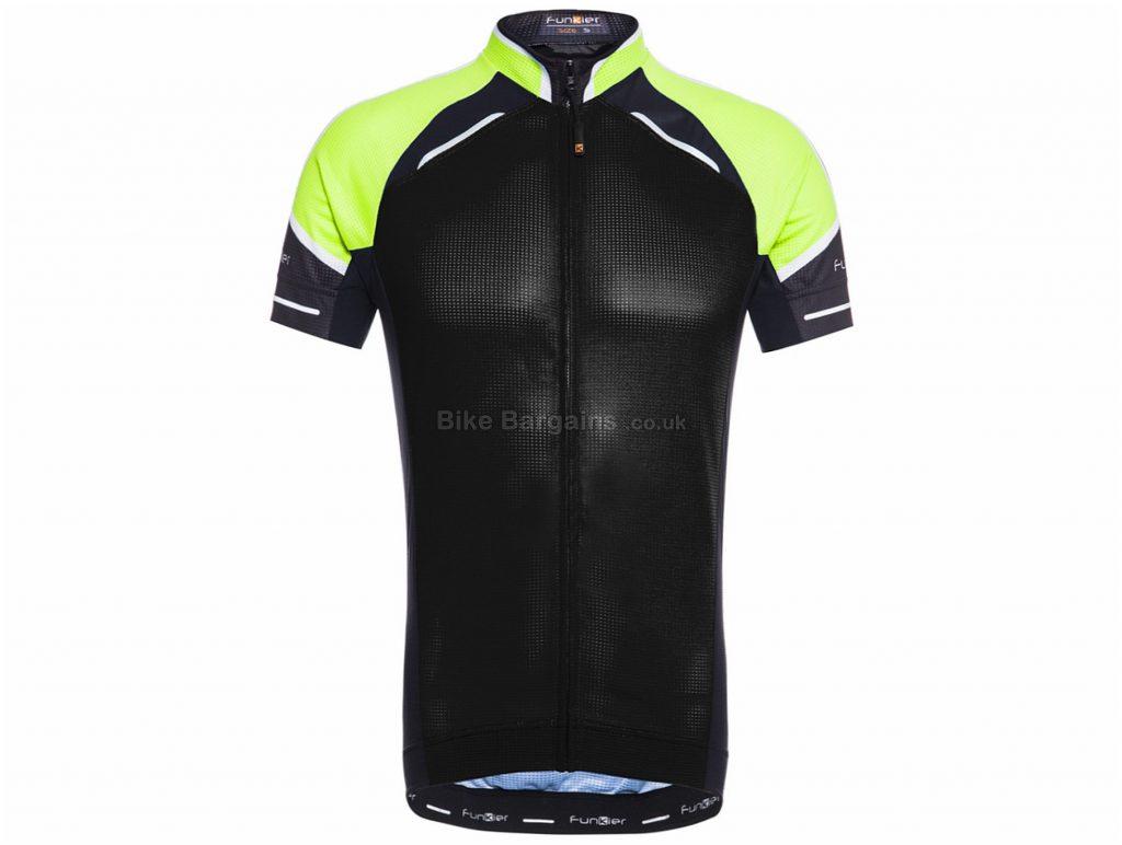 Funkier Rosaro Short Sleeve Jersey S, Black, Blue