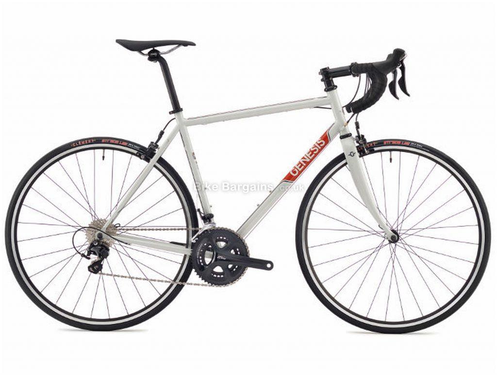 Genesis Equilibrium 20 Steel Road Bike 2018 XL, Grey, Steel, 11 Speed, Caliper Brakes, Double Chainring, 9.44kg
