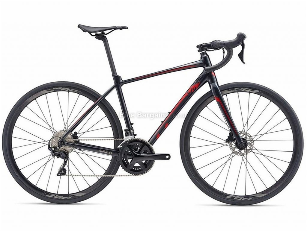Giant Liv Avail SL 1 Disc Ladies Alloy Road Bike 2019 XS, Black, Alloy, 11 Speed, Disc, Double Chainring