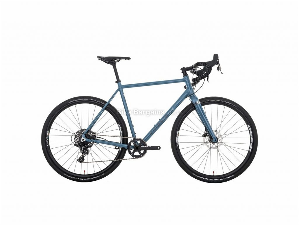 Kinesis G2 Alloy Gravel Bike 2019 51cm, Blue, Alloy, 700c, 11 Speed, Single Chainring, Disc