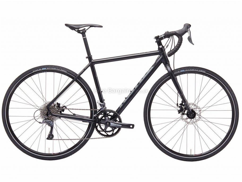 Kona Rove Alloy Road Bike 50cm, 52cm, 54cm, 56cm, 58cm, 59cm, Black, Alloy, 700c, Disc, 8 Speed