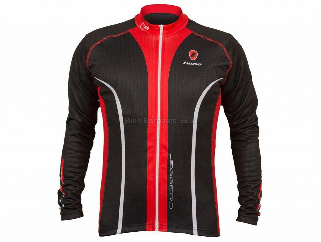 Lusso Leggero Thermal Cycling Jacket S, Black, Blue, Yellow, Long Sleeve