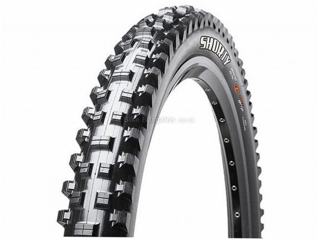 "Maxxis Shorty EXO TR Folding 29"" MTB Tyre 29"", 2.3"", Black, MTB, Folding"