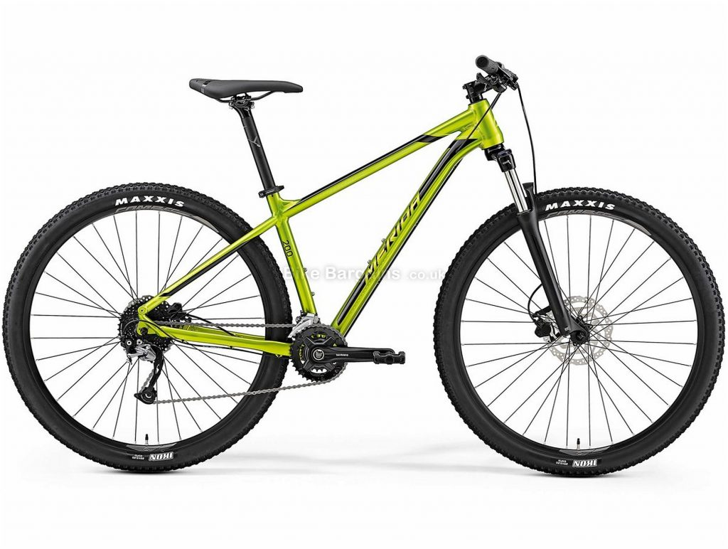 "Merida Big Nine 200 29"" Hardtail Mountain Bike 2019 17"", Green, Alloy, 18 Speed, Disc, 29"""