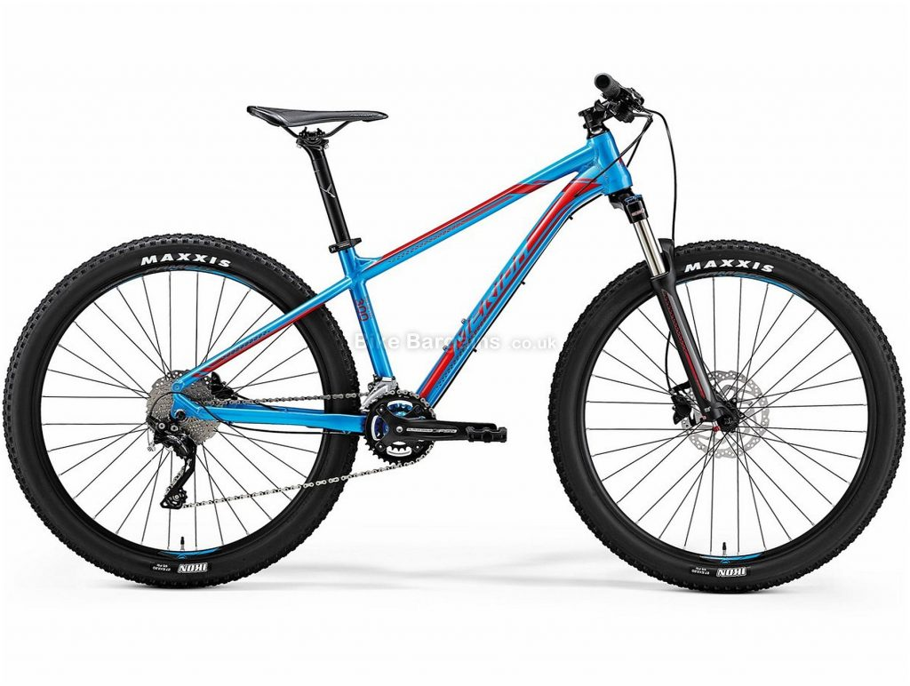 "Merida Big Seven 300 27.5"" Hardtail Mountain Bike 2019 XS, Blue, Red, Alloy, 20 Speed, Disc, 27.5"""