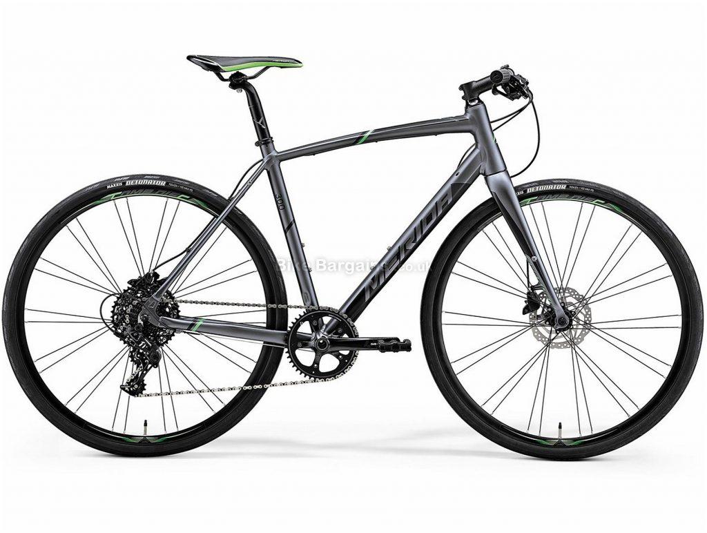 Merida Speeder 300 City Hybrid Bike 2019 XS, Grey, Black, Alloy, 11 Speed, Disc, 700c