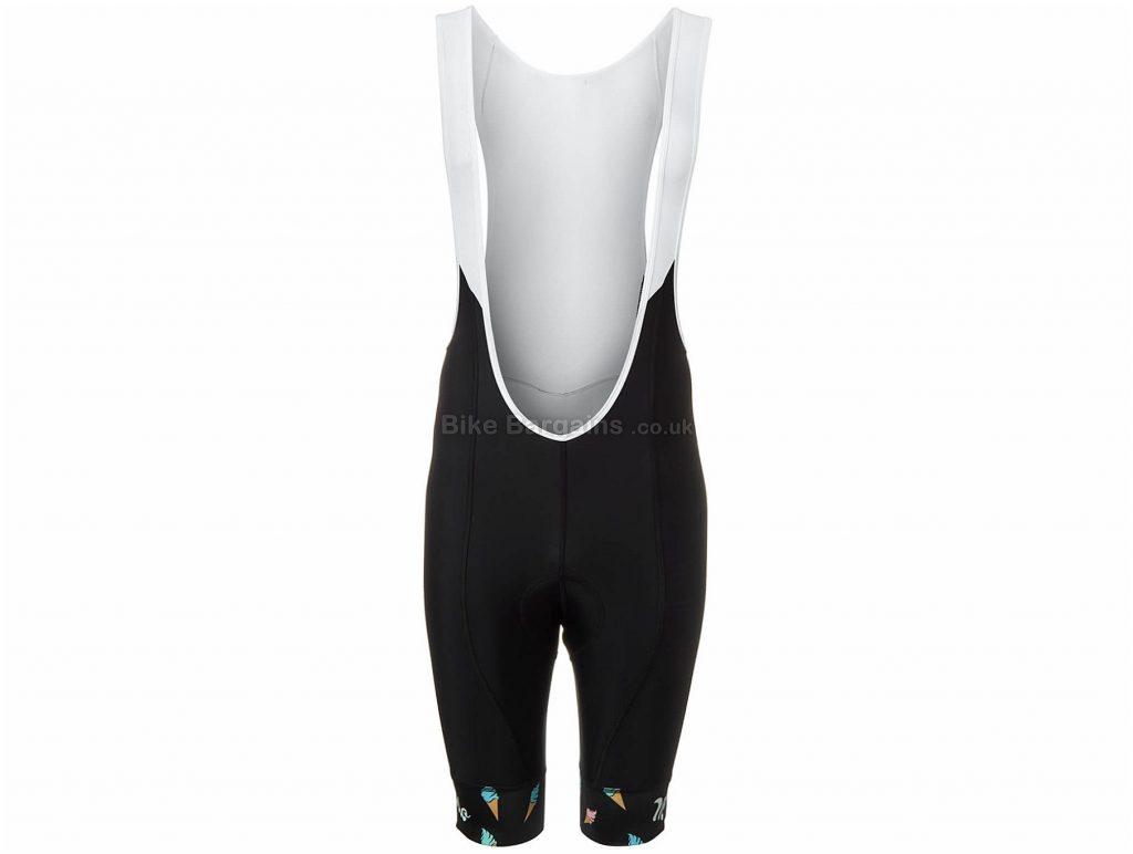 Morvelo Exclusive Ice Ice Baby Bib Shorts XS, Black, White