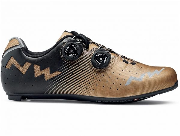 Northwave Revolution Road Shoes 48, Black, Grey, 312g, Men's, Road, Carbon, Boa