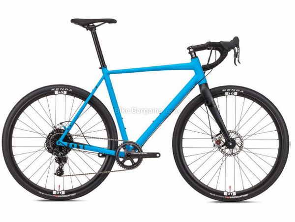 Octane One Gridd MTB Alloy Gravel Bike 2019 S,M, Blue, Black, Alloy, 700c, 11 Speed, Single Chainring, Disc