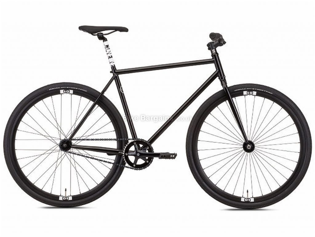 Octane One Zoid City Hybrid Bike 2019 M, Black, Steel, Single Speed, Disc, 700c