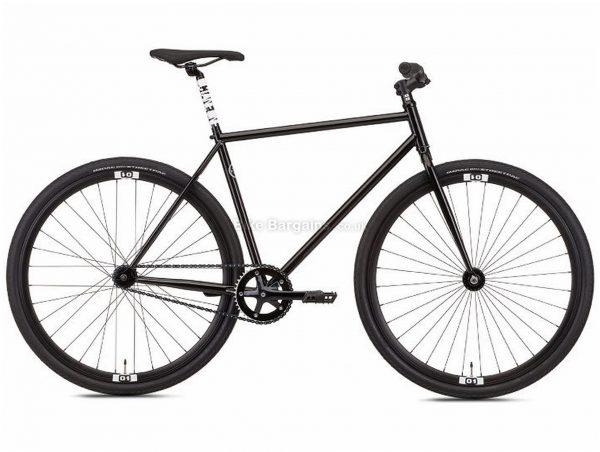 Octane One Zoid City Hybrid Bike 2019 M, Black, Steel, Single Speed, Disc, 700c