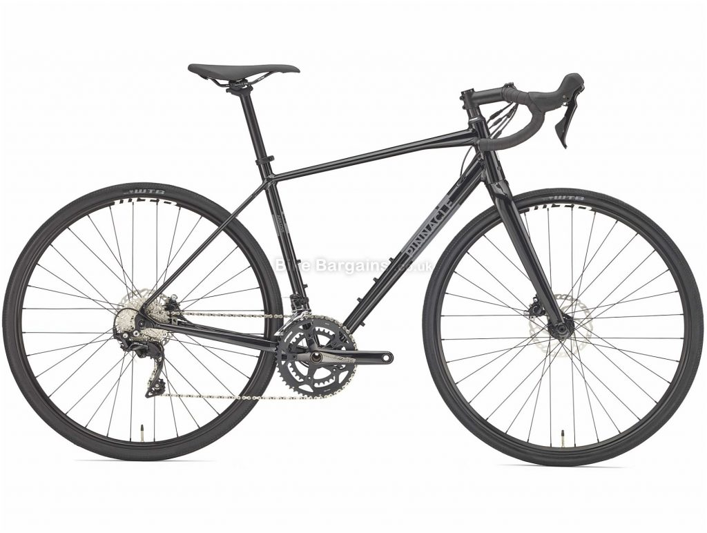 Pinnacle Arkose R2 Alloy Road Bike 2019 S, Black, 700c, 9.8kg, Alloy, 11 Speed, Double Chainring, Disc