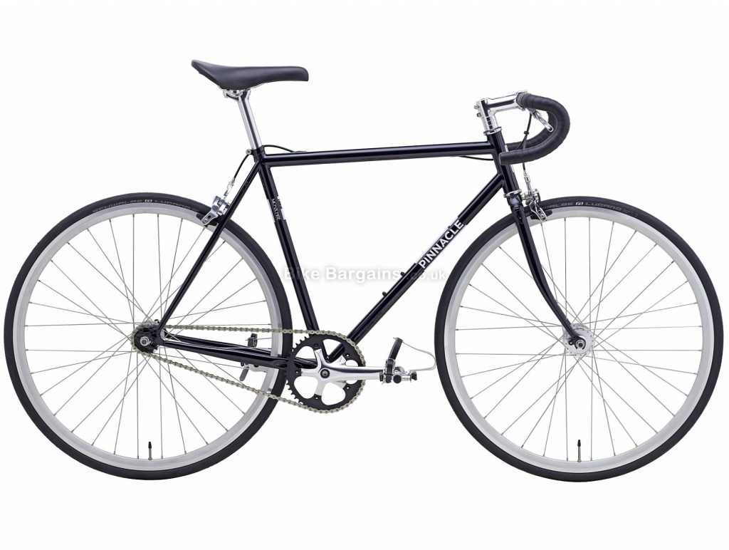 Pinnacle Monzonite Singlespeed Steel City Bike 2019 XL, Grey, 700c, 10.32kg, Steel, Single Speed, Single Chainring, Caliper Brakes