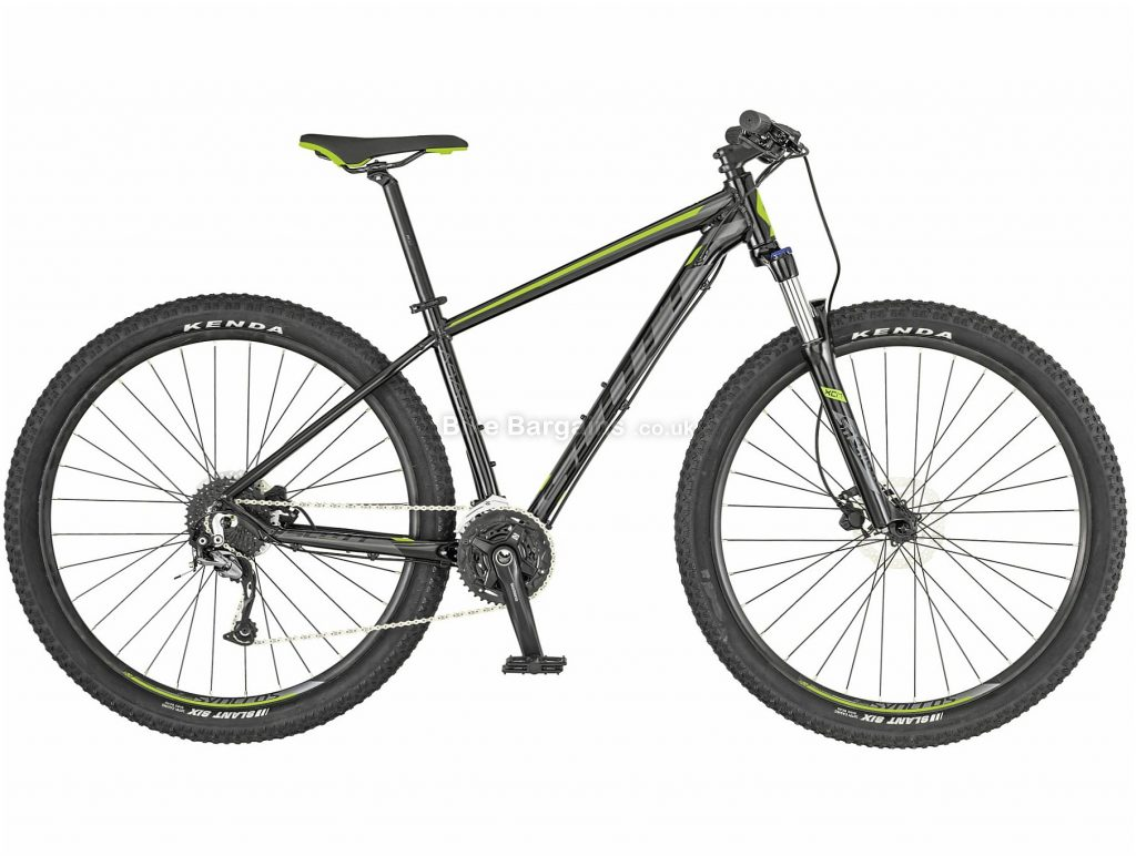 "Scott Aspect 940 Alloy Hardtail Mountain Bike 2019 S, Black, 29"", Hardtail, 9 Speed, Disc, Triple Chainring, 14.3kg"