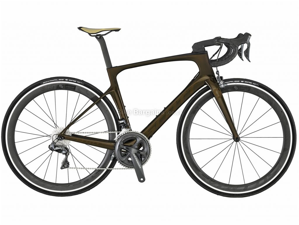 Scott Foil 10 Aero Carbon Road Bike 2019 54cm, Brown, Carbon, 11 Speed, Caliper Brakes, Double Chainring, 7.86kg