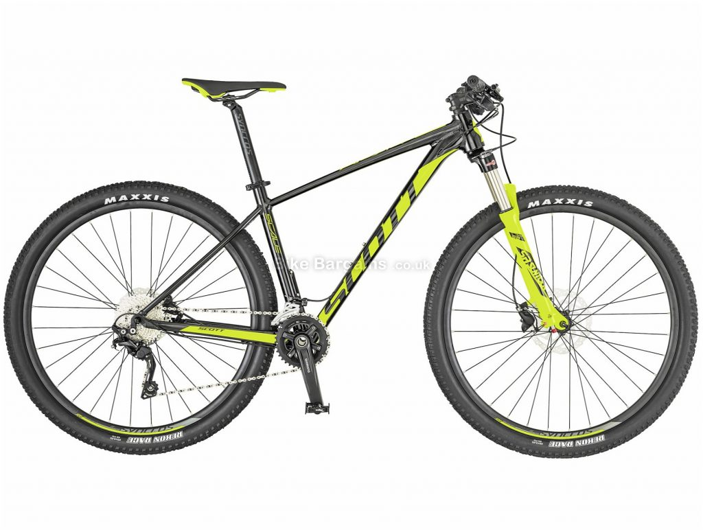 """Scott Scale 990 Alloy Hardtail Mountain Bike 2019 S, Grey, 29"""", Hardtail, 10 Speed, Disc, Double Chainring, 13.3kg"""