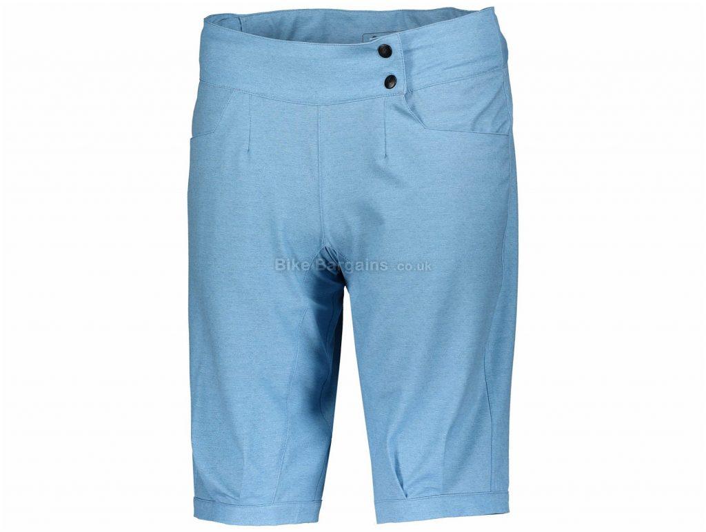 Scott Trail 30 Loose Fit Ladies Shorts M, Blue