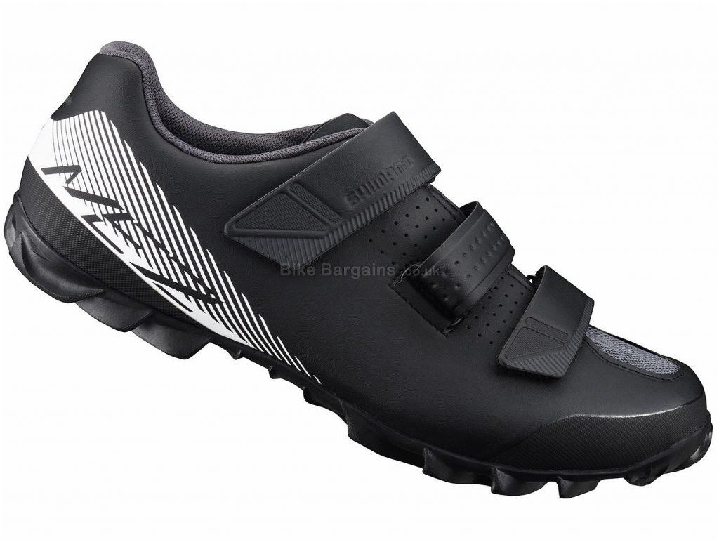 Shimano ME2 SPD MTB Shoes 36, Black, White, 730g, Men's, MTB, Fibreglass, Velcro