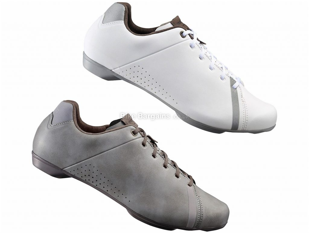 Shimano RT4 Ladies Spd Road Touring Shoes 36,37,38,39,40,41,42, White, 275g, Ladies, Road, Fibreglass, Laces