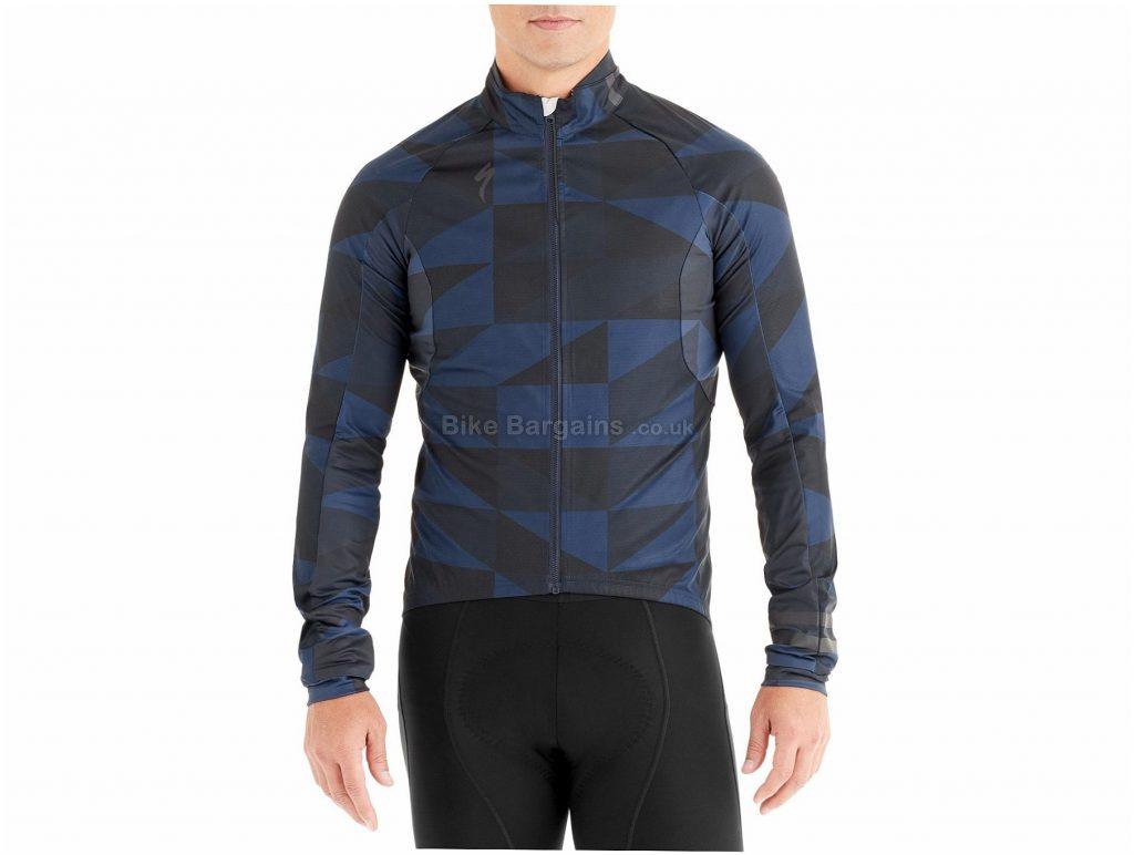 Specialized Element 1.0 Windproof Jacket 2019 L, Blue, Black, Long Sleeve