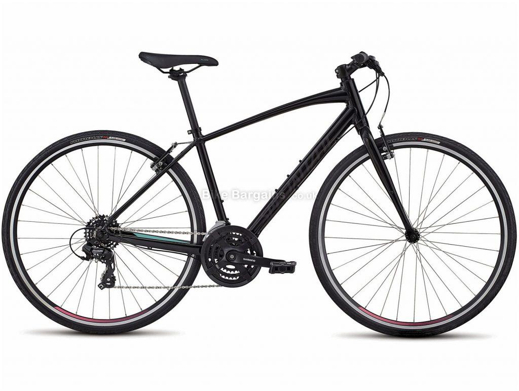 Specialized Sirrus Ladies Alloy City Bike 2020 XL, Black, 700c, Alloy, 7 Speed, Triple Chainring, Caliper Brakes