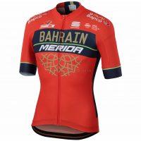 Sportful Bahrain Merida Bodyfit Team Short Sleeve Jersey 2018