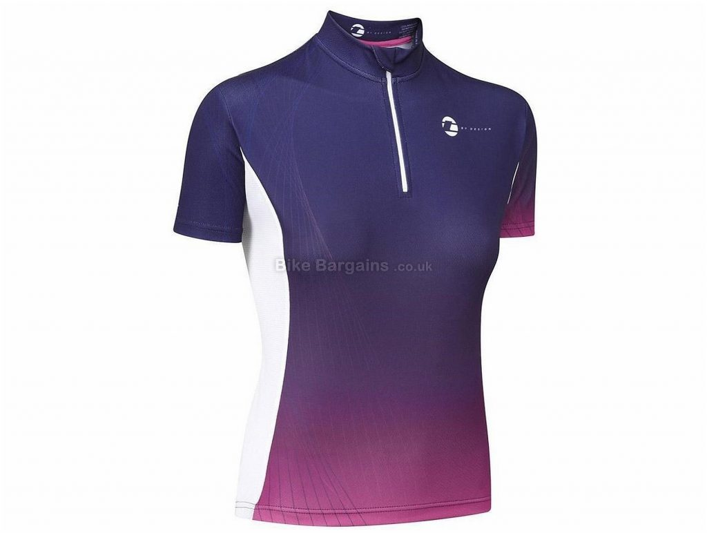Tenn By Design Ladies Short Sleeve Jersey 14,16, Purple