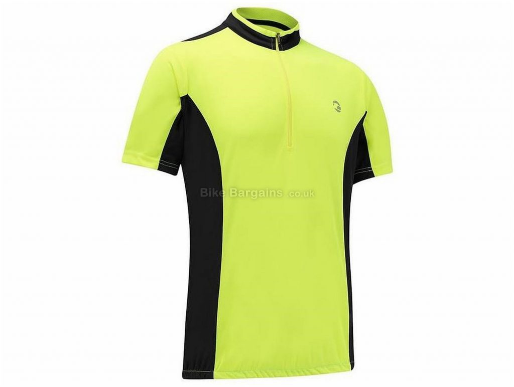 Tenn Coolflo Short Sleeve Jersey S,M, Yellow, Black