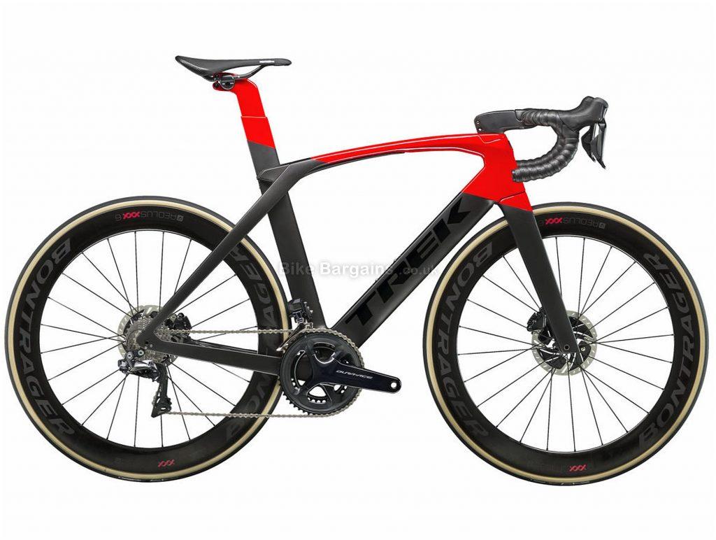 Trek Madone SLR 9 Disc Carbon Road Bike 2019 56cm, Black, Red, Carbon, 11 Speed, Disc, Double Chainring, 7.65kg