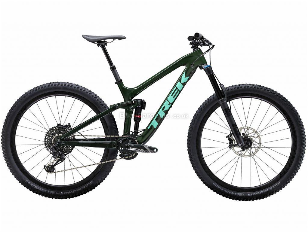 """Trek Slash 9.8 29er Carbon Full Suspension Mountain Bike 2019 17"""", Green, 29"""", Full Suspension, 12 Speed, Disc, Single Chainring"""