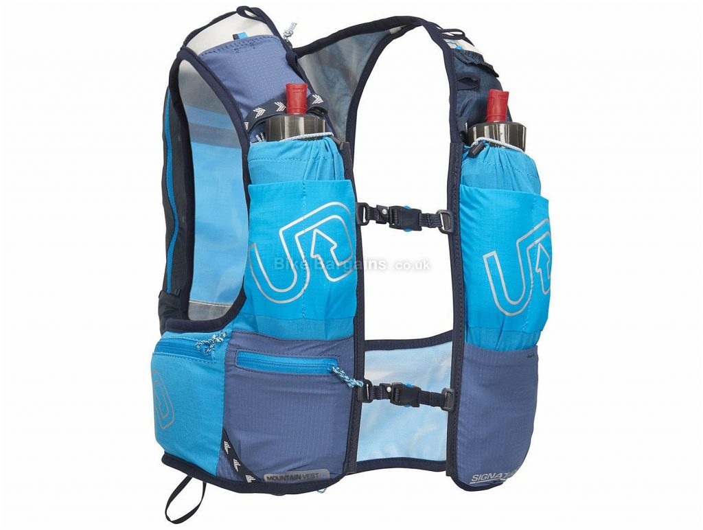 Ultimate Direction Mountain 4.0 Vest Hydration Pack 2018 S, Blue, 13.27 Litres, 325g
