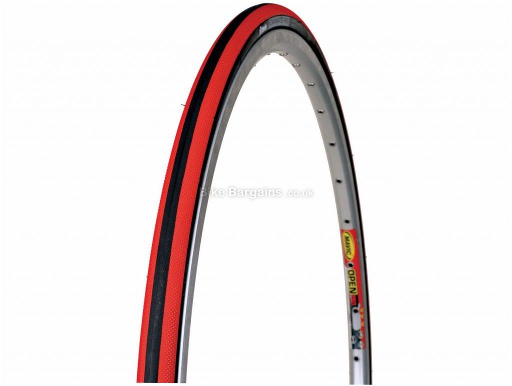 Vittoria Diamante Pro II Folding Road Tyre 700c, 25c, Black, Red, Road, Folding