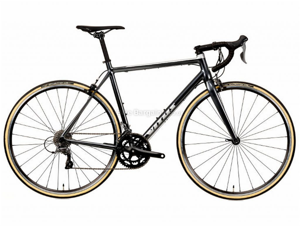 Vitus Razor Claris Alloy Road Bike 2020 XS, Black, Alloy, 700c, 8 Speed, Double Chainring, Caliper Brakes, 9.84kg