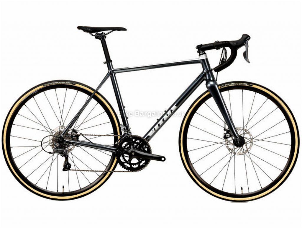 Vitus Razor Disc Claris Alloy Road Bike 2020 XS, Black, Alloy, 700c, 8 Speed, Double Chainring, Disc, 10.12kg