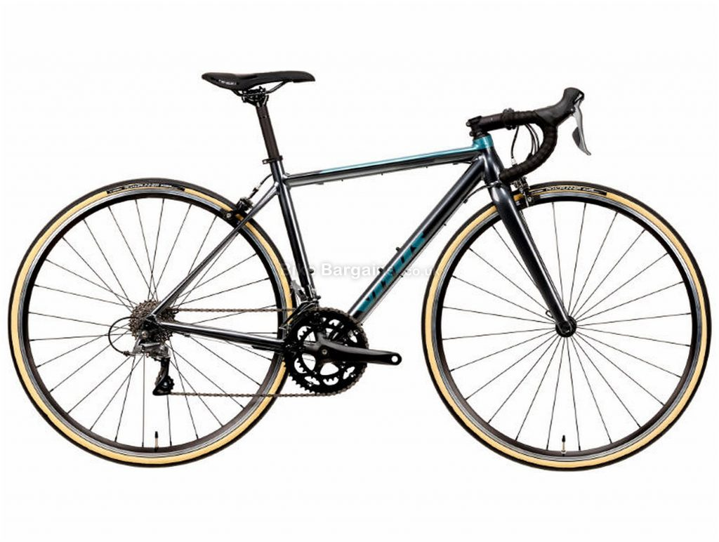 Vitus Razor Ladies Claris Alloy Road Bike 2020 XS, Grey, Alloy, 700c, 8 Speed, Double Chainring, Caliper Brakes, 9.63kg