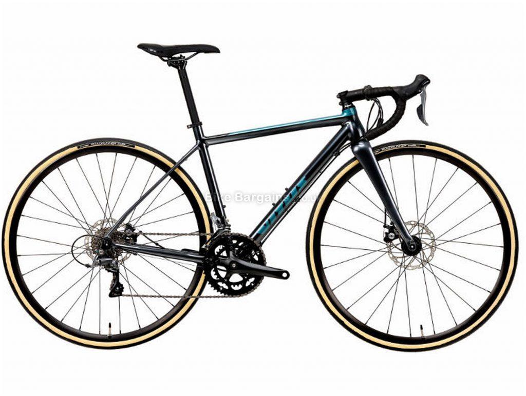 Vitus Razor Ladies Disc Claris Alloy Road Bike 2020 S, Grey, Alloy, 700c, 8 Speed, Double Chainring, Disc, 9.75kg
